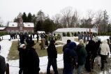 Wreath laying at the FDR Home on the Springwood Estate