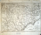A new and accurate map of North Carolina and part of South Carolina : with the field of battle between Earl Cornwallis...