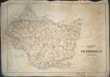 Map of Pr: Edward Co Virginia : surveyed and drawn under direction of A. H. Campbell Capt Engr's...