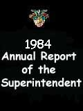 1984 Annual Report of the Superintendent - United States Military Academy